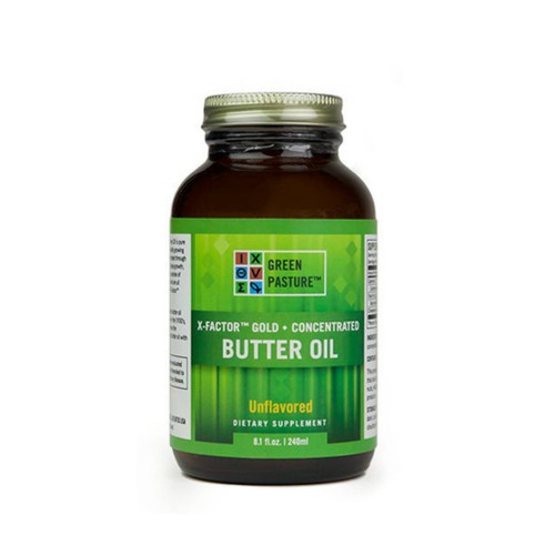 Green Pasture X-Factor Gold Concentrated Butter Oil - Non-Flavoured 240ml