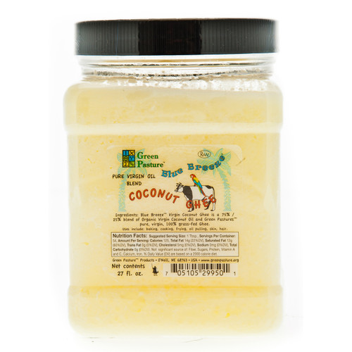 Virgin Oil Blend Coconut Ghee - 27 fl. oz. (767ml)