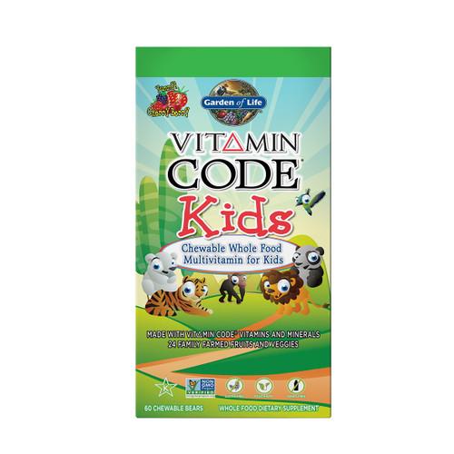 Garden of Life Vitamin Code Kids - 60 Chewable Bears