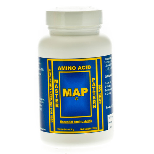 MAP Master Amino Acid Pattern - 120 tablets