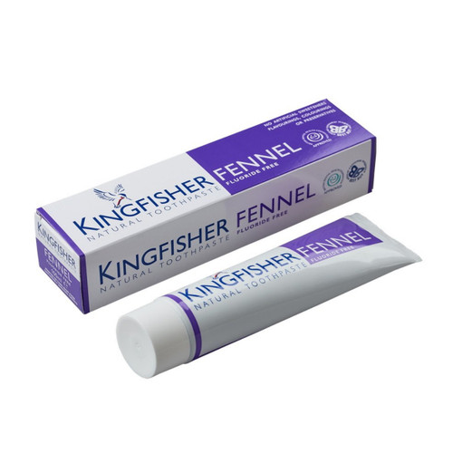 King Fisher Fennel Toothpaste (Fluoride Free) - 100ml