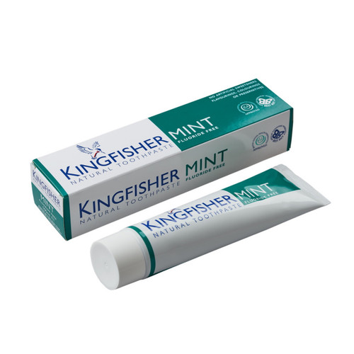 King Fisher Mint Toothpaste (Fluoride Free) - 100ml