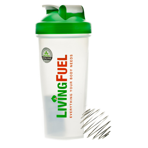 Living Fuel Blender Bottle Green - 795ml