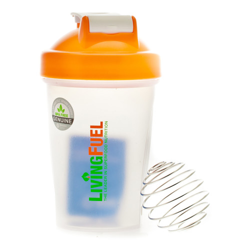 Living Fuel Mini Blender Bottle Orange - 568 ml