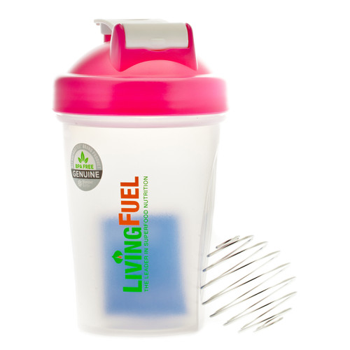 Living Fuel Mini Blender Bottle Pink - 568ml