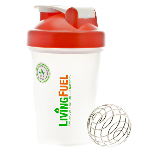 Living Fuel Mini Blender Bottle Red - 568 ml