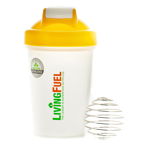 Living Fuel Mini Blender Bottle Yellow - 568 ml