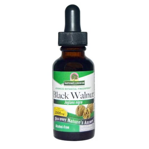 Nature's Answer Alcohol Free Black Walnut Hulls - 30ml