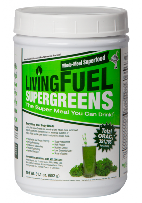 Living Fuel SuperGreens - 882g