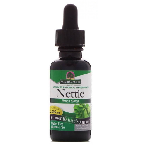 Nature's Answer Alcohol Free Nettle Leaf Extract- 30ml