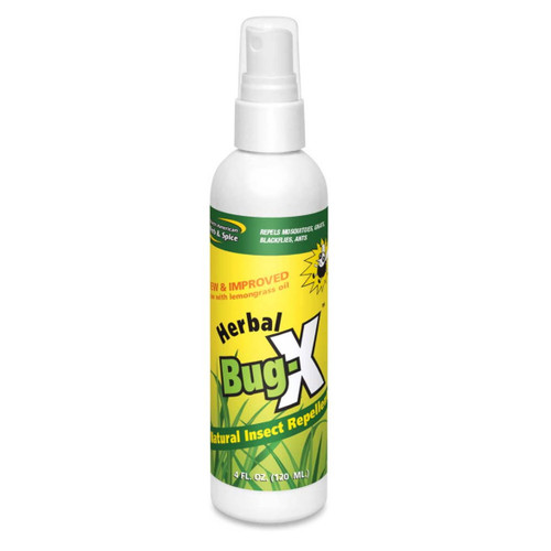 North American Herb & Spice Herbal & Natural Bug X(Spray) - 120ml