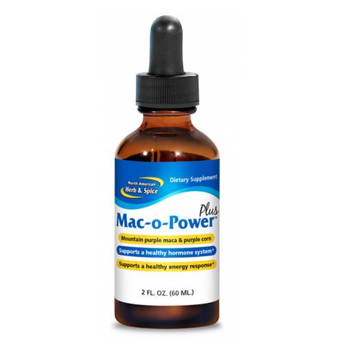 North American Herb & Spice Mac-o-Power PLUS (RawMaca Energy Booster) - 60ml