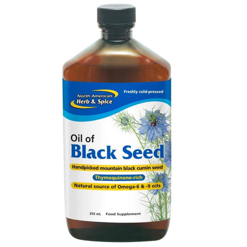 North American Herb & Spice Oil of Black Seed  (Cumin) - 355ml