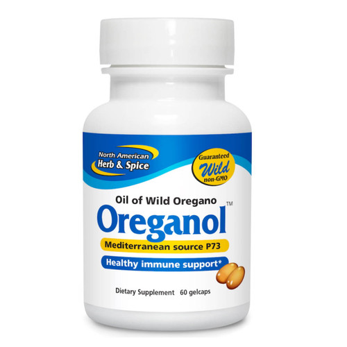 North American Herb & Spice Oreganol P73 (Oil of Oregano) - 60 softgels