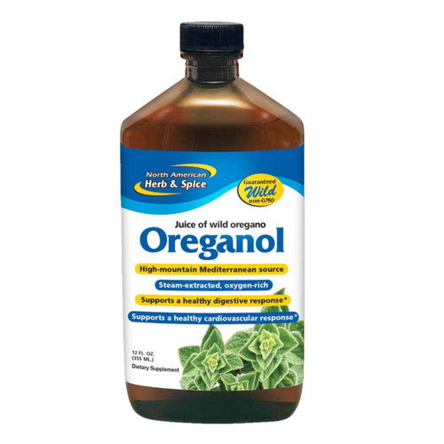 North American Herb & Spice Oreganol P73 Juice (Juice of Oregano) - 355ml