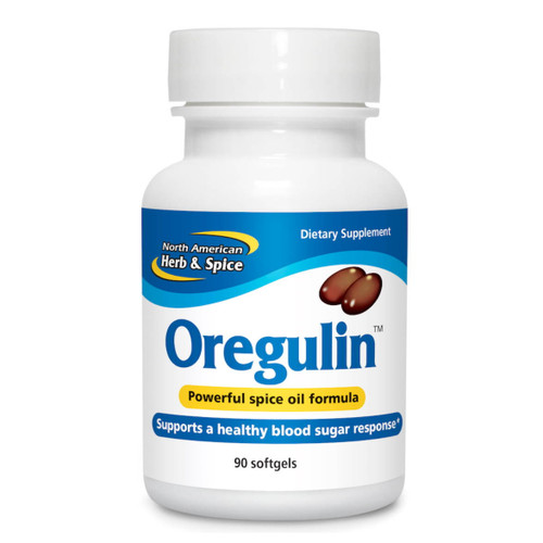 North American Herb & Spice Oregulin (Balance & Support) - 90 softgel capsules