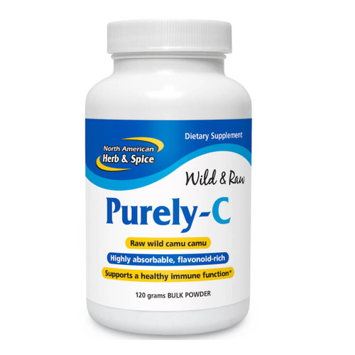 North American Herb & Spice Purely-C Wild Amazon Camu Camu (Vitamin C) - 120g