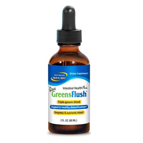 North American Herb & Spice Raw Greens Flush  (Dandelion & Nettles) - 60ml