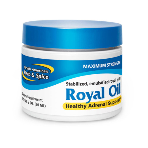 North American Herb & Spice Royal Oil Jelly (Maximum Energy & Strength) - 60ml