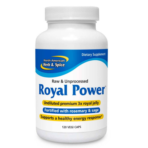 North American Herb & Spice Royal Power (Natural Source Vitamin B & more) - 120 vegi capsules
