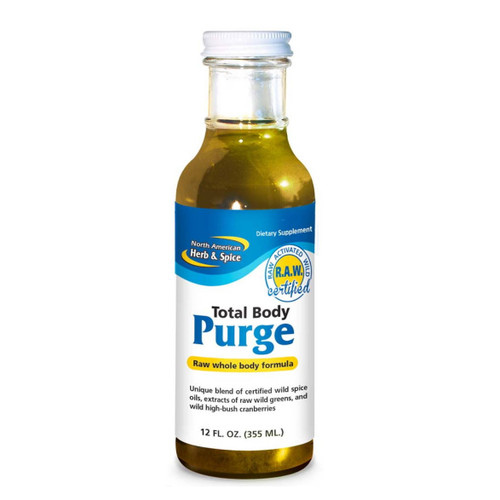 North American Herb & Spice Total Body Purge (Spice, Oils & Raw Greens) - 355ml