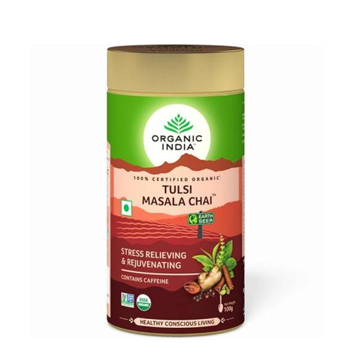 Organic India - Tulsi Masala Chai Loose Tea  - 100g