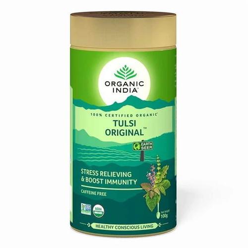 Organic India Loose Tulsi Original Tea - 100g