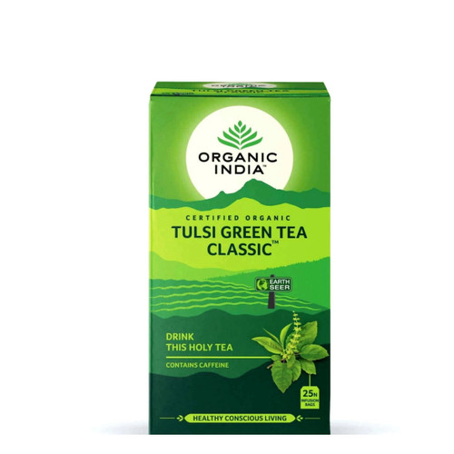 Organic India Tulsi Green Tea - 25 Teabags
