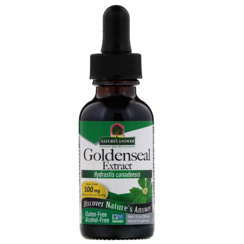 Nature's Answer Alcohol Free Goldenseal - 30ml