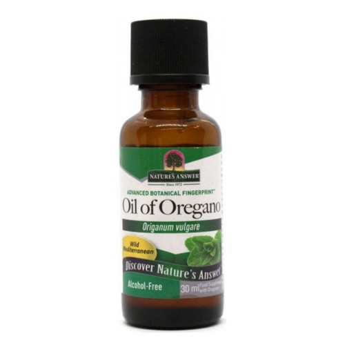 Nature's Answer Alcohol Free Oil of Oregano - 30ml