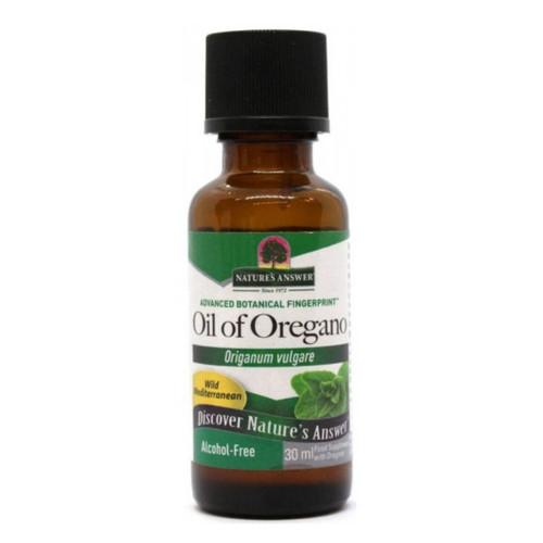 Nature's Answer Alcohol Free Oil of Oregano - 30ml