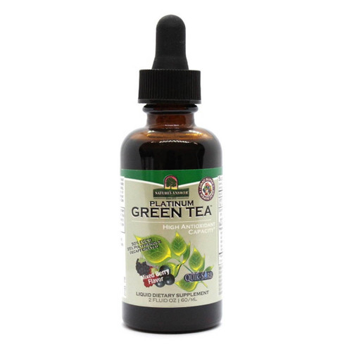 Nature's Answer Platinum Green Tea Extract (Berry Flavour) - 60ml