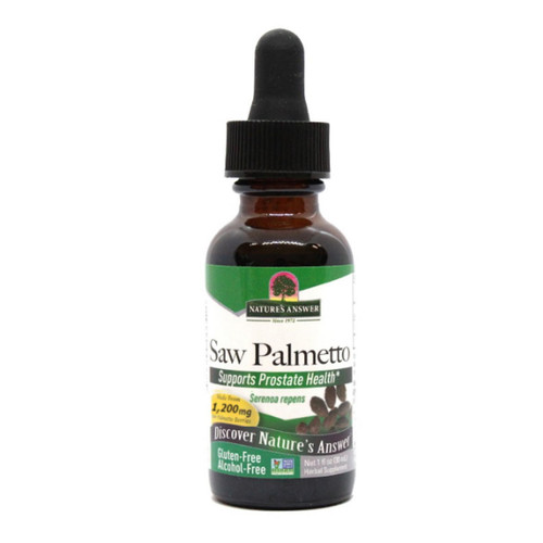 Nature's Answer Alcohol Free Saw Palmetto Berry - 30ml
