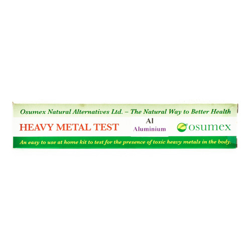 Osumex Heavy Metal Test Kit - Aluminium
