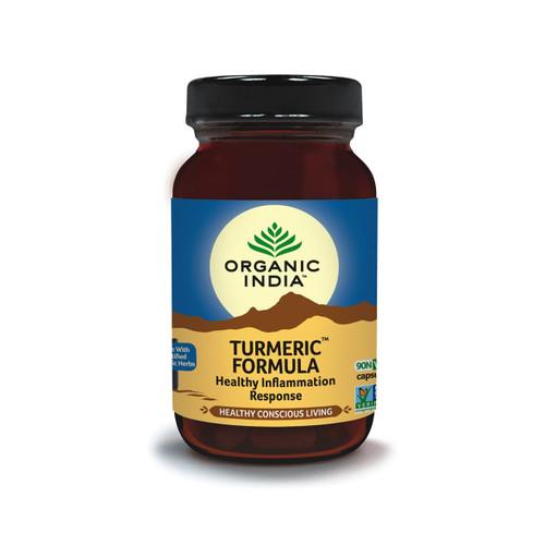 Organic India Turmeric Formula - 90 capsules