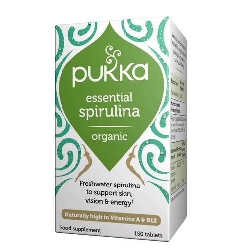 Pukka Essential Spirulina - 150 tablets