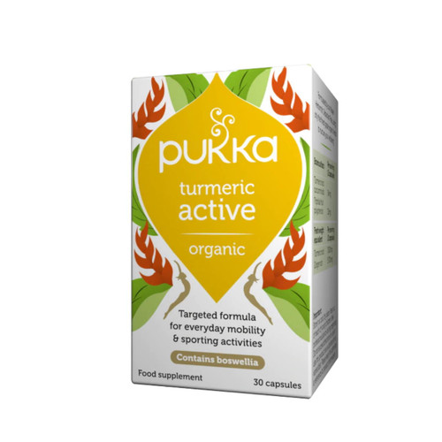 Pukka Organic Turmeric Active - 30 capsules