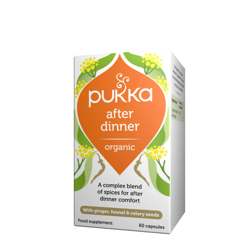 Pukka Organic After Dinner - 60 capsules