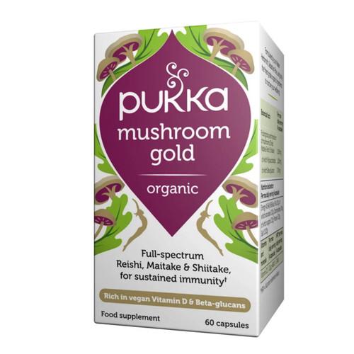 Pukka Organic Mushroom Gold - 60 capsules