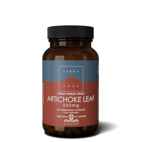 Terranova Artichoke Leaf  250mg - 50 capsules