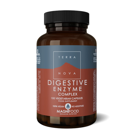 Terranova Digestive Enzyme - 100 capsules