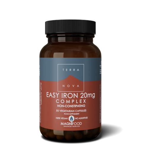 Terranova Easy Iron Complex 20mg - 50 capsules