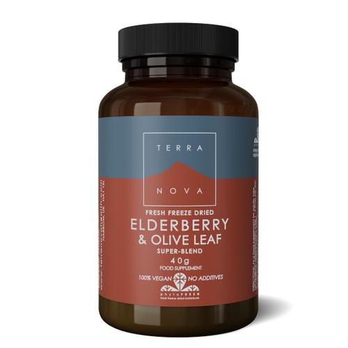 Terranova Elderberry & Olive Leaf - 40g