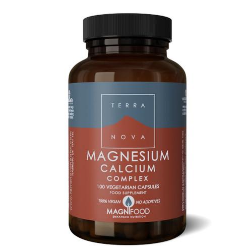 Terranova Magnesium Calcium 2:1 Complex - 100 capsules