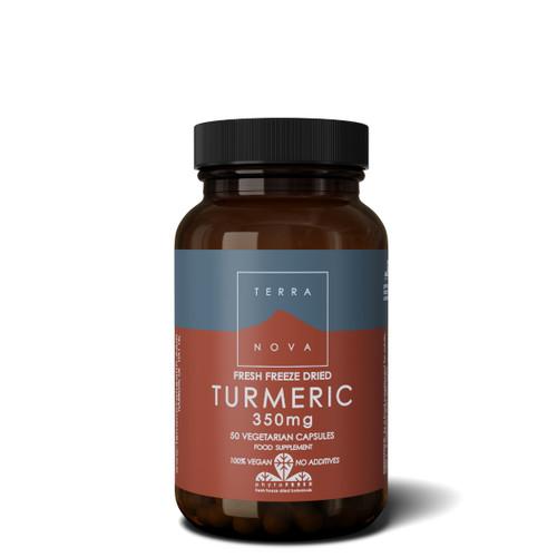 Terranova Turmeric 350mg - 50 capsules