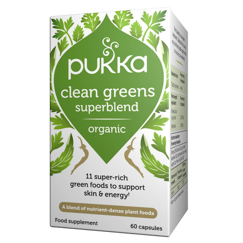 Pukka Organic Clean Green - 60 capsules