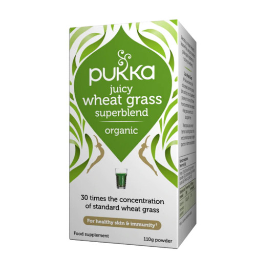 Pukka Organic Juicy Wheat Grass - 110g Powder