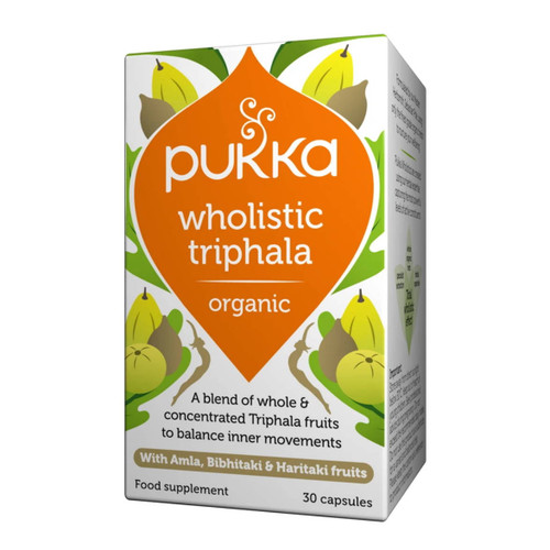 Pukka Organic Wholistic Triphala - 30 capsules