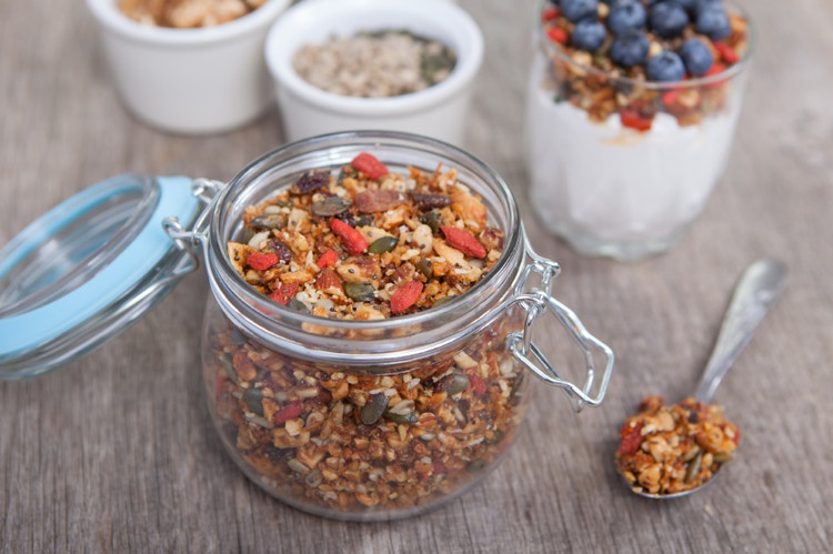 Our super fast and healthy muesli Bircher