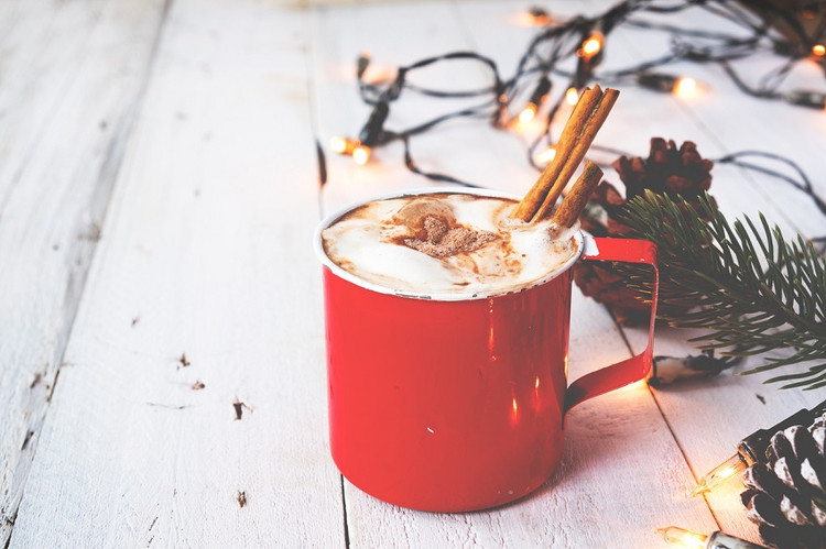 Ultimate comfort drink - hot cocoa!